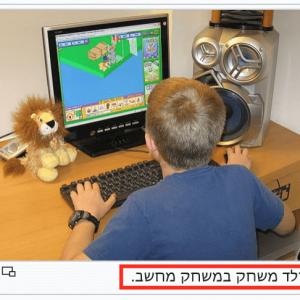 Photo caption example