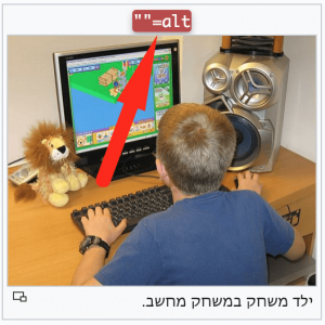 Showing Alt Tag example