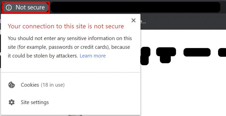 אבטחה - Google Chrome