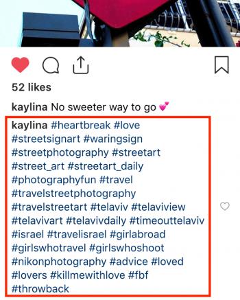 50 Hashtags